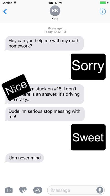 Blackout Text