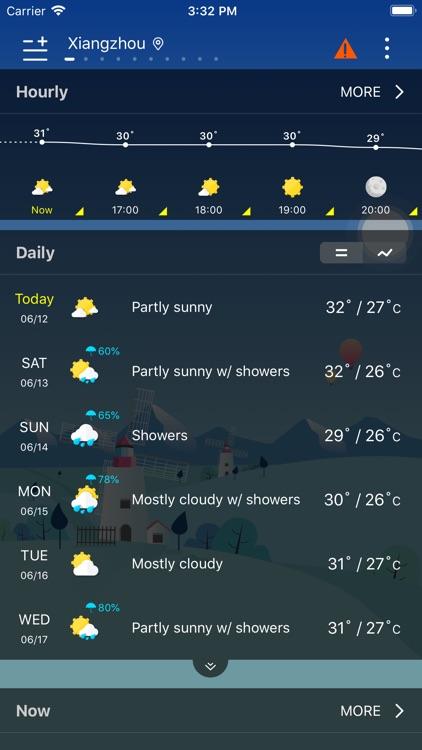 Weather - Live Weather & Radar screenshot-4