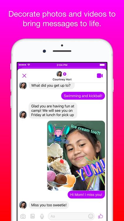 Messenger Kids screenshot-3