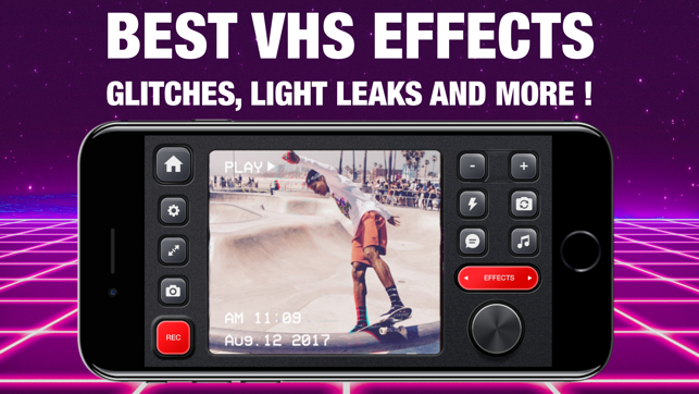 VHS Glitch Camcorder on the App Store