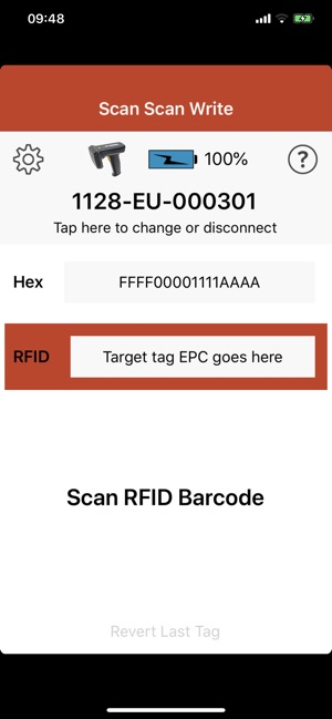 RFID Scan Scan Write on the App Store