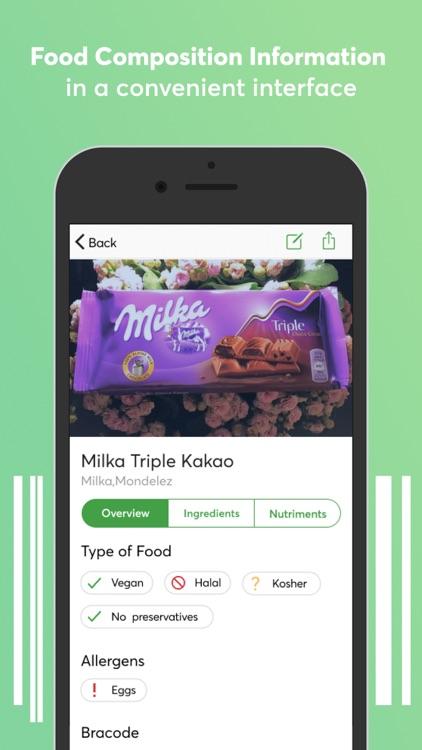 Food scanner screenshot-3