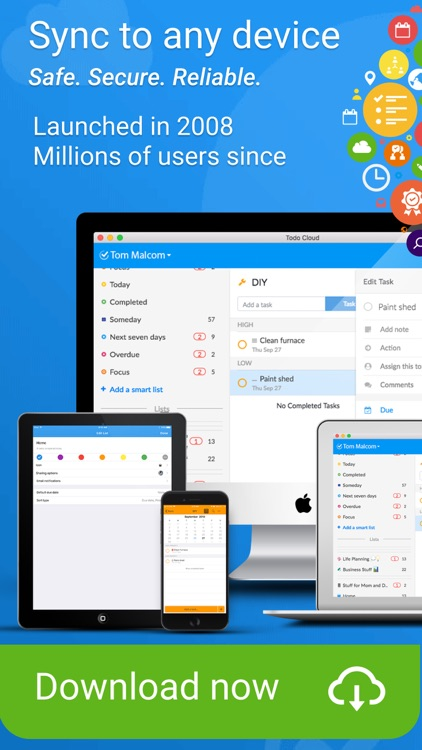 Todo Cloud: Task List Tracker screenshot-9