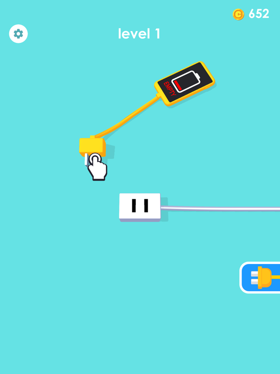iPad Image of Recharge Please! - Puzzle Game