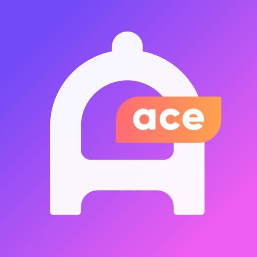 ACE DATE - Live. Chat. Meet. app logo