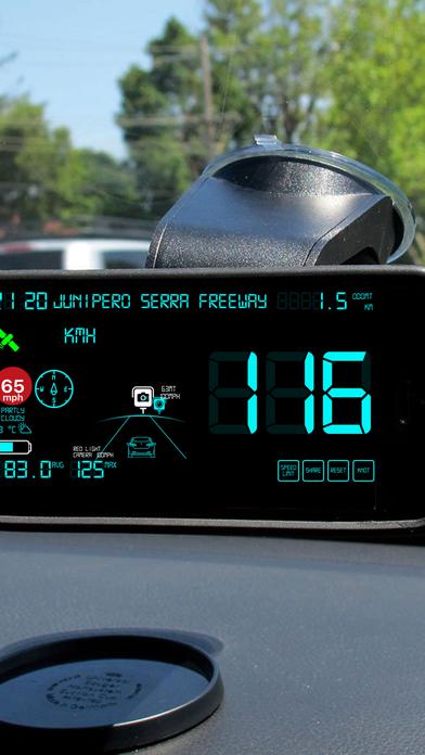 スピードメーターmphデジタルディスプレイのおすすめ画像4