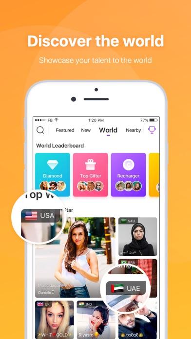 LiveMe – Live Video Chat Screenshot on iOS