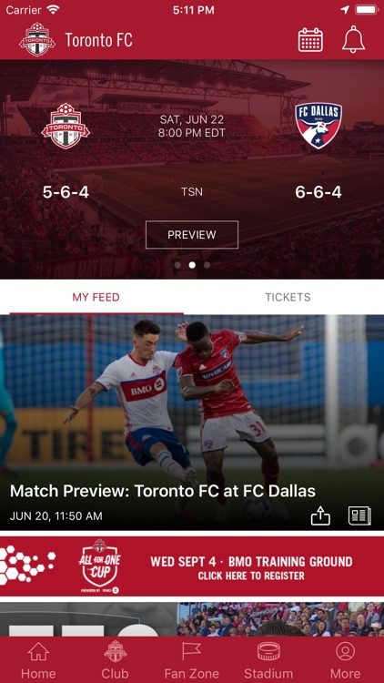 Toronto FC Mobile screenshot-0