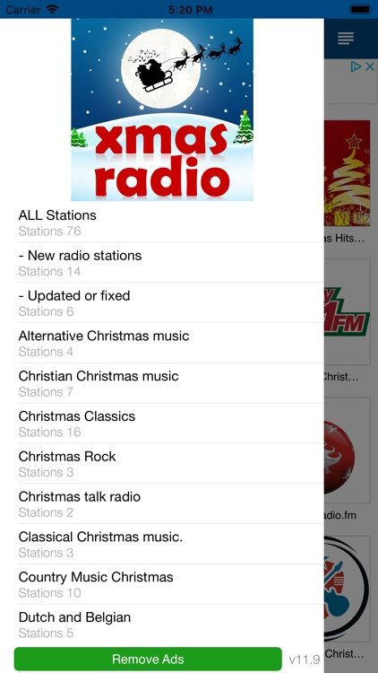 Christmas RADIO screenshot-2