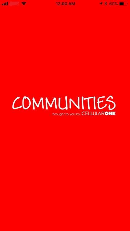 Communities by Cellular One