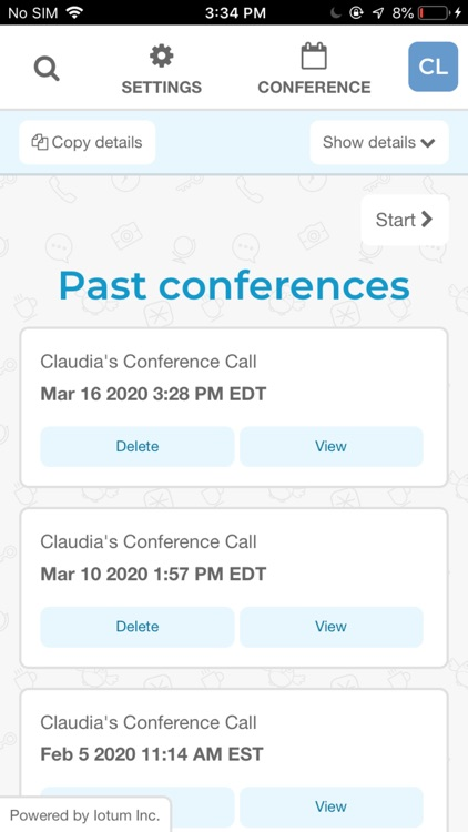 FreeConference.com screenshot-7