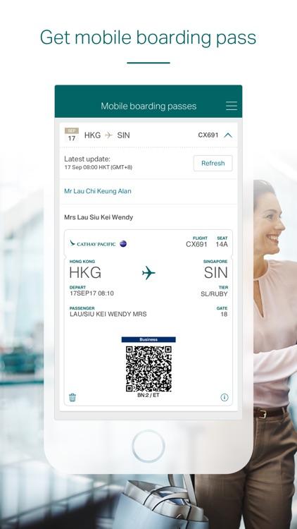 Cathay Pacific screenshot-4