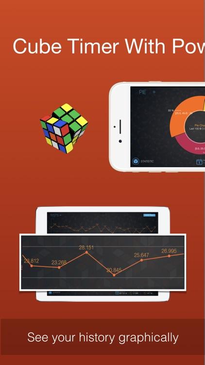 Cutimer Pro: Magic Cube Timer screenshot-0