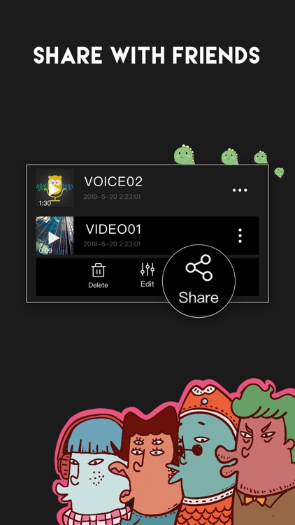 Voice Changer - Sound Editor screenshot-3