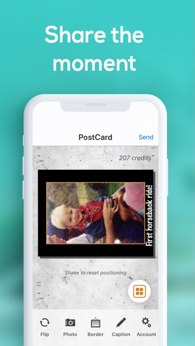 messages.download Postcard App by SnapShot software