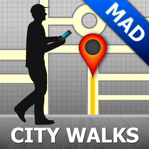 Madrid Map & Walks (F)