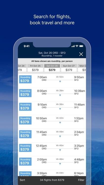 United Airlines screenshot-5