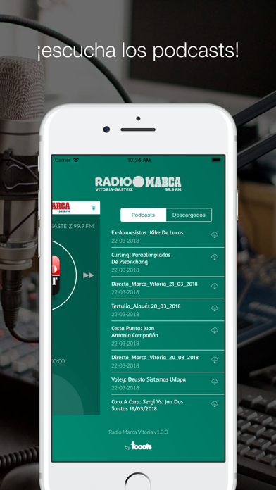 Radio Marca Vitoria screenshot four