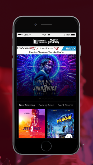 Marcus Theatres Movie Tavern By Marcus Theatres Corporation Ios United States Searchman App Data Information