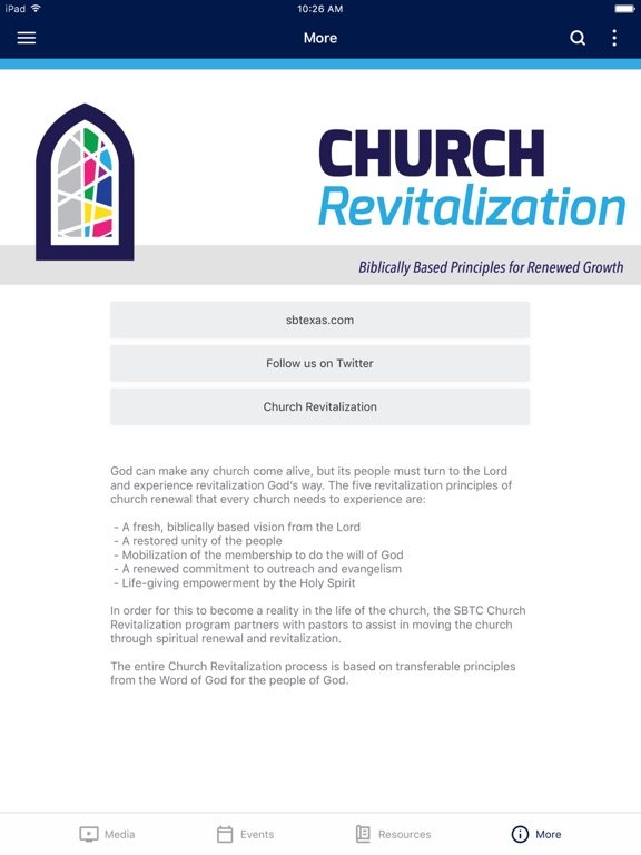 SBTC Church Revitalization screenshot 6