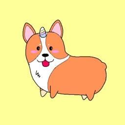 Corgimoji UniCorgi Corgi Emoji