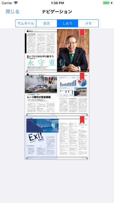 messages.download 日経ビジネス誌面ビューアー software
