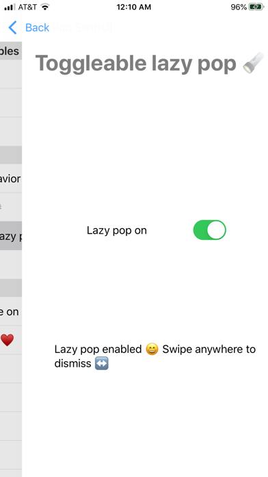 Lazy Pop SwiftUI Demoのおすすめ画像1