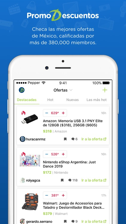 PromoDescuentos: ofertas screenshot-0