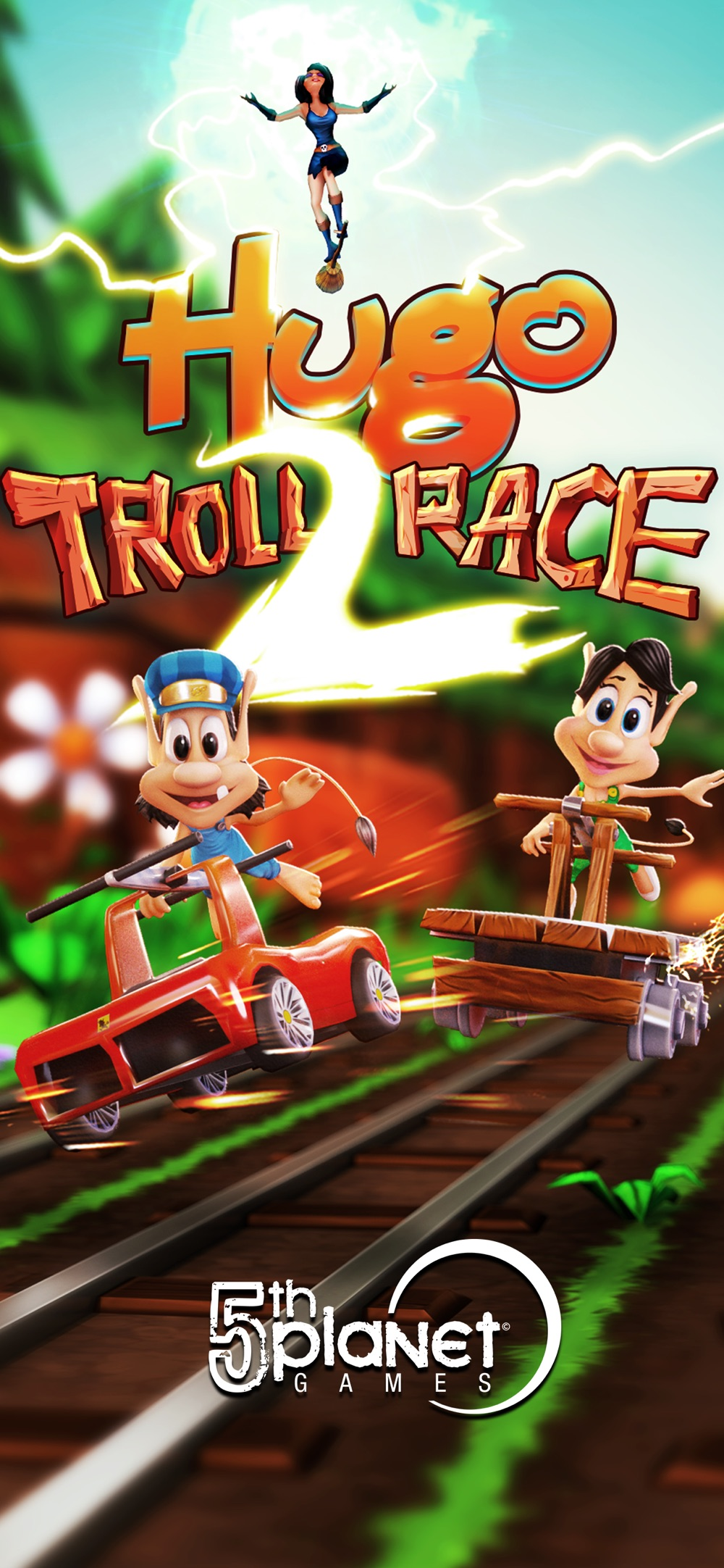 Hugo Troll Race 2: Rail Rush Cheat Codes