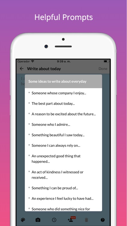 Gratitude - Happiness Journal screenshot-5