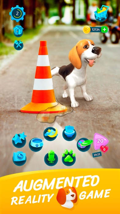 TamaDog! - AR Puppy Games screenshot 2