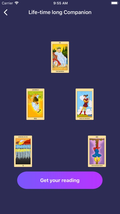 Daily Tarot Card Reading Plus screenshot-3