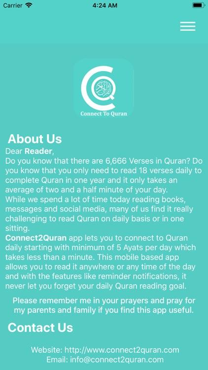 Connect2Quran by Saad Ansari