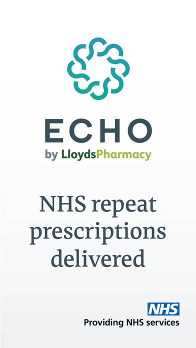 Echo - NHS Prescriptions