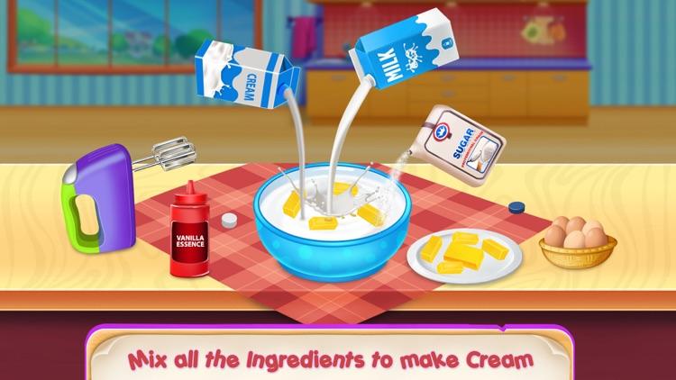 Ice Cream Cupcake Waffle Cone screenshot-3