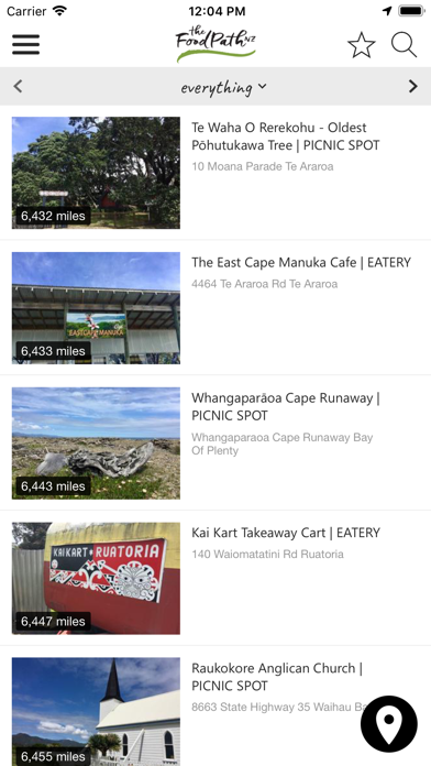 New Zealand Food Trail Guide screenshot two