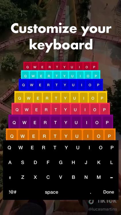Best fonts keyboards tracker