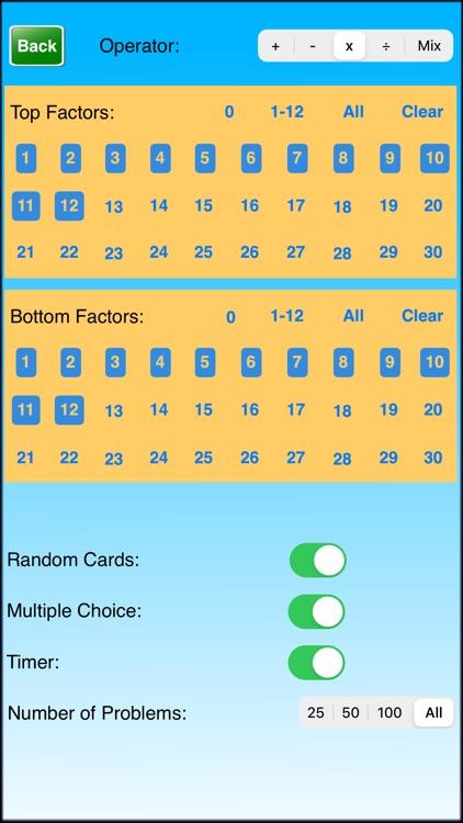 Ace Math Flash Cards screenshot-4
