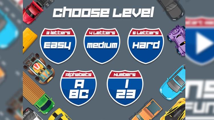 Car Racing Spelling Fun screenshot-3