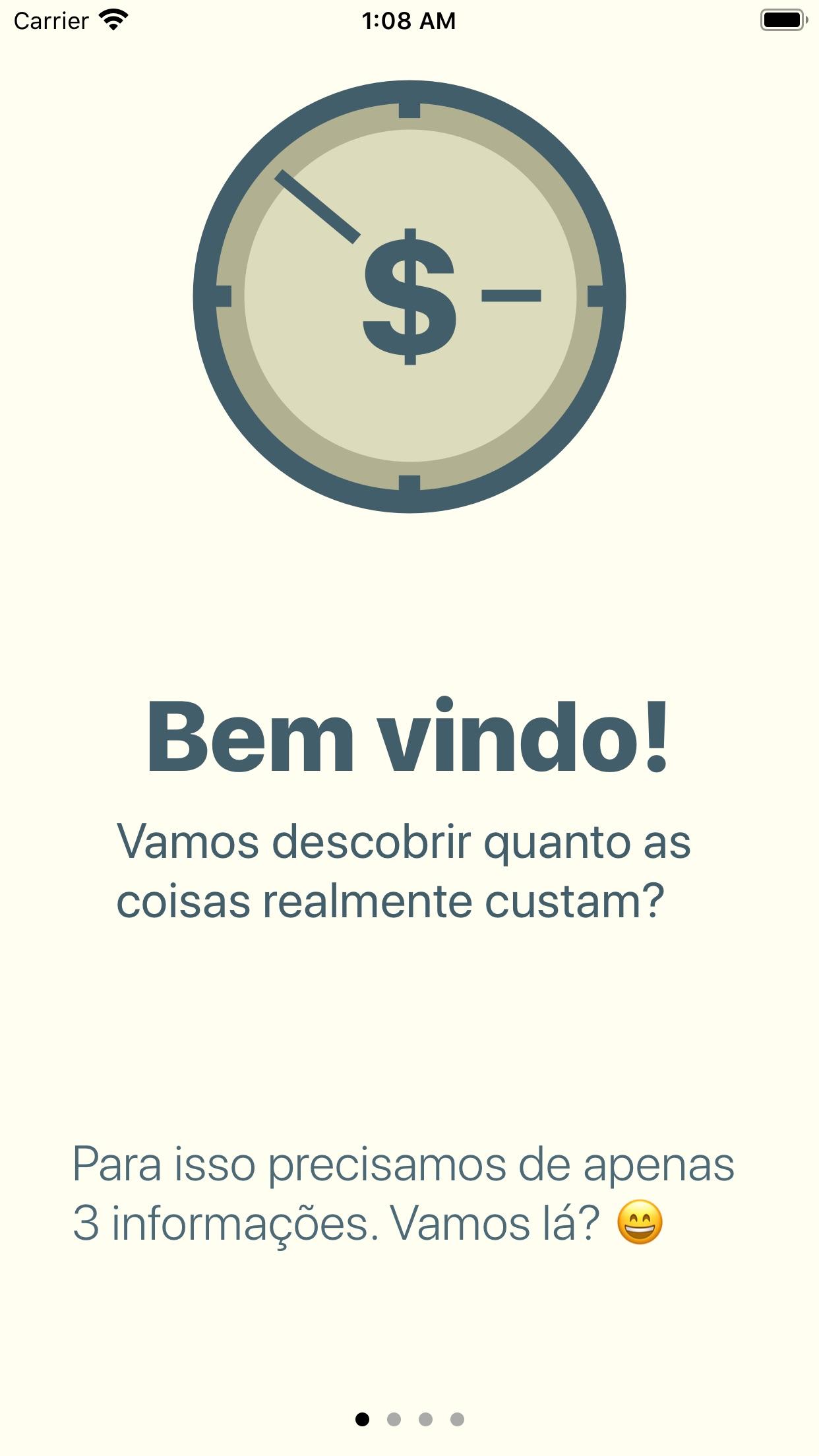 Screenshot do app Tempo é Dinheiro: Calculadora