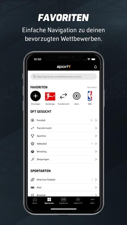 SPORT1: Sport & Fussball News screenshot-0