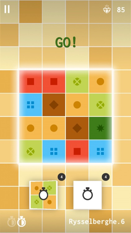 Matching Colors Puzzle Game