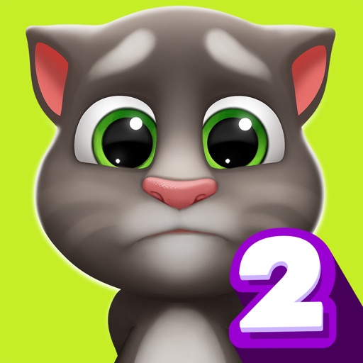 My Talking Tom 2 app logo