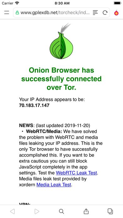 Red Onion II: TOR Web Browserのおすすめ画像2