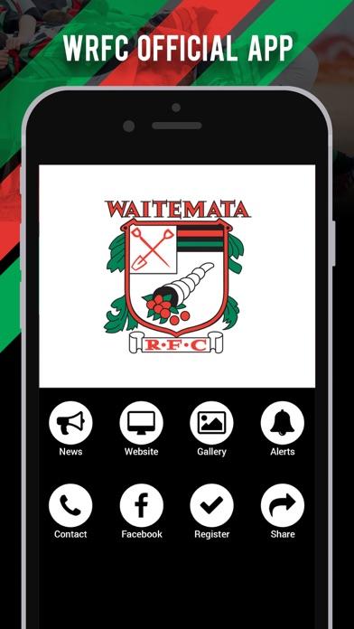 Waitemata Rugby Football Club screenshot one