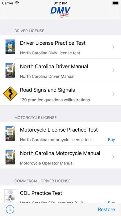 North Carolina DMV Test Prep