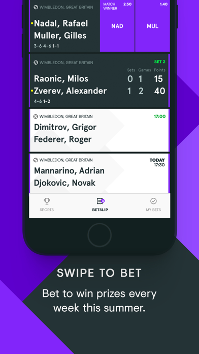 Free sports betting apps