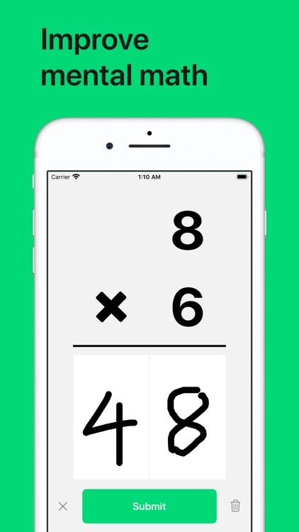 Math Drills - Math Flash Cards