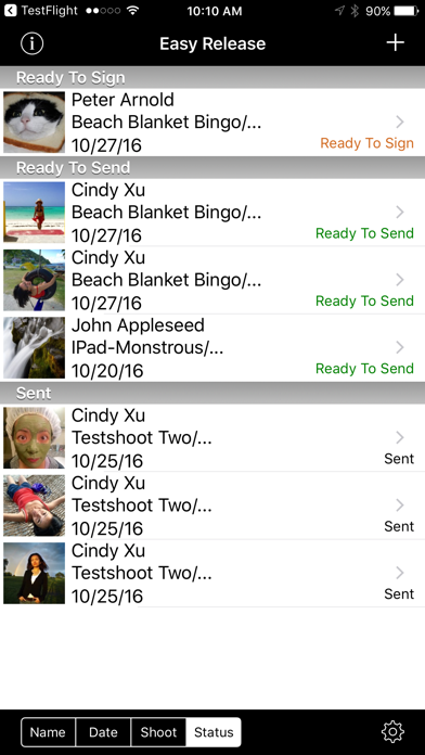 Easy Release review screenshots