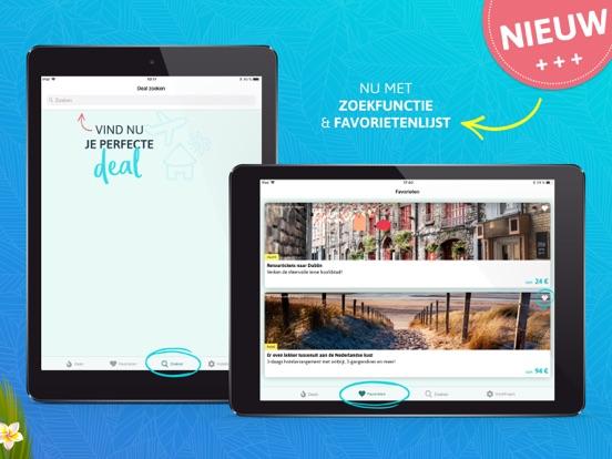 Holidayguru.nl > Vakantiedeals iPad app afbeelding 2